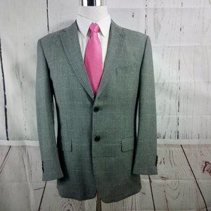 Tommy Hilfiger 41R Gray Suit Blazer Sports Coat